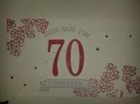 """Stempelset """"So viele Jahre"""" und die passenden Framelits, als Blüteneinfassung """"Birthday blossoms"""""""